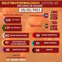Boletim Epidemiológico - 05/02/2021.